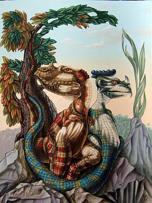 The Lost World  By Sir Arthur Conan Doyle Art Print