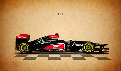 The Lotus E21 Art Print