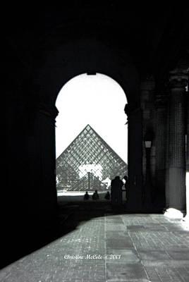 Louve Photograph - The Louve 1 by Christine McCole