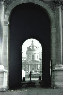Louve Photograph - The Louve 2 by Christine McCole