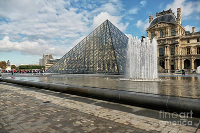 Photograph - The Louvre Paris by Lynn Bolt