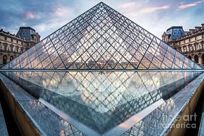 Lourve Photograph - The Louvre, Paris by Martin Williams