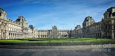 Photograph - The Louvre by Scott Kemper