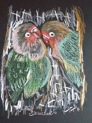 Painting - The Love Birds by Cassandra Vanzant