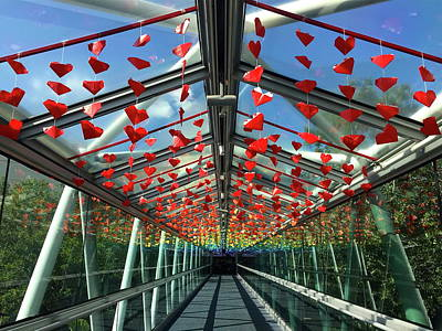 Photograph - The Love Bridge by Denise Mazzocco