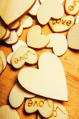 Shape Photograph - The Love Heart Scatter by Jorgo Photography - Wall Art Gallery