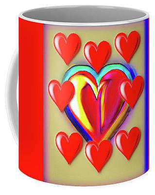 Digital Art - The Love Mug by Gayle Price Thomas