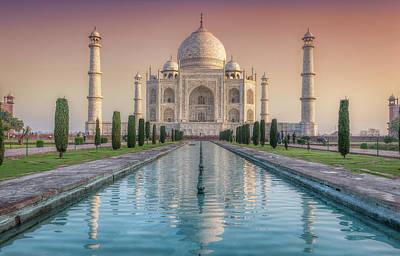 The Love Of Taj Print by Kumar  Annamalai