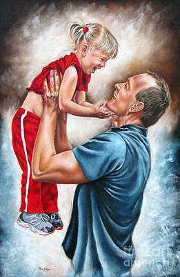 The Love Of The Father Art Print by Ilse Kleyn