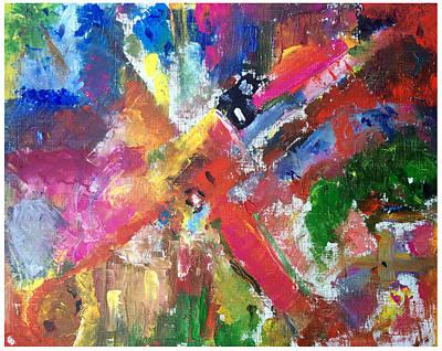 The Love Path Original by Angelika Tamaryan
