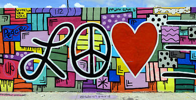 Photograph - The Love Wall by Keith Armstrong