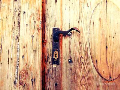 Photograph - The Lovely Door Handle by Erika H