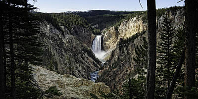 Photograph - The Lower Falls by Sandra Selle Rodriguez