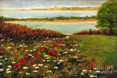 Cape Florida Lighthouse Painting - The Lowlands by Carolyn Shireman
