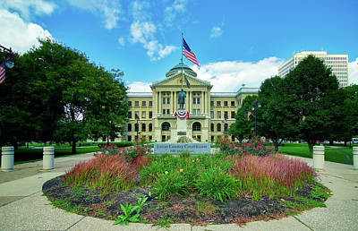 The Lucas County Courthouse Art Print by Mountain Dreams