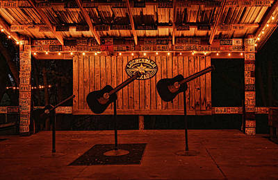 Photograph - The Luckenbach Stage by Judy Vincent