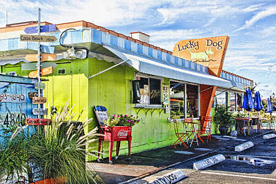 Lucky Dogs Wall Art - Photograph - The Lucky Dog Diner by HH Photography of Florida