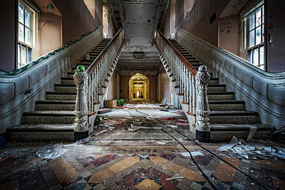 Photograph - The Lunatic Is The Hall by Mihai Andritoiu