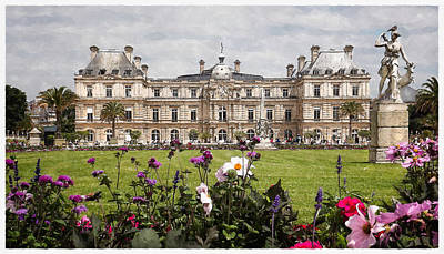 Digital Art - The Luxembourg Palace by Kai Saarto