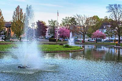 Photograph - The Lynn Goldfish Pond Lynn Ma by Toby McGuire