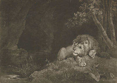 Relief - The Lyon  by George Stubbs