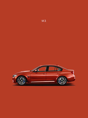 Bmw M3 Photograph - The M3 by Mark Rogan