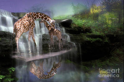 Digital Art - The Maagical Bond by Mary Lou Chmura