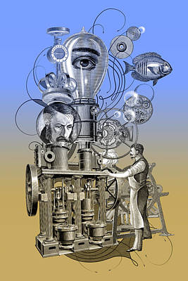 The Machine Original by Denys Golemenkov