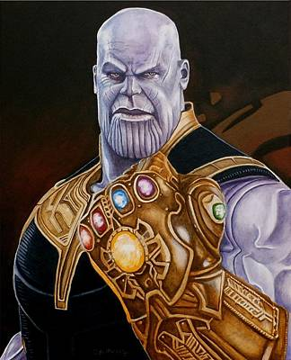 Painting - The Mad Titan by Al  Molina