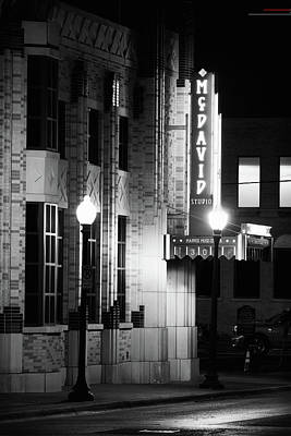 Photograph - The Maddox Muse Center B W 030818 by Rospotte Photography