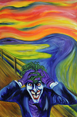 Dc Comics Painting - The Madness by Mitchell Todd