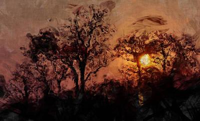 The Madness Of Twilight Print by Mark Denham