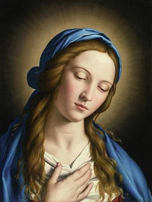 The Madonna Art Print