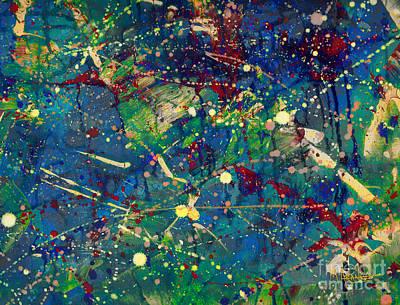 Painting - The Maelstrom by Maria Arango