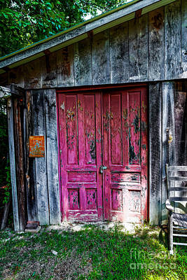 Photograph - The Magenta Doors by Paul Mashburn