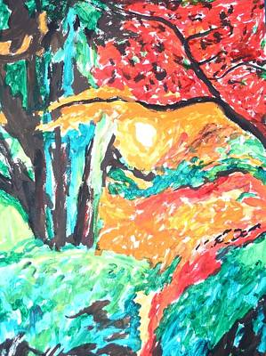 Painting - The Magic Forest by Esther Newman-Cohen