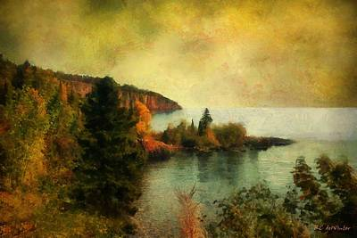 Painting - The Magic Hour by RC deWinter