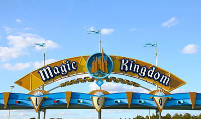Photograph - The Magic Kingdom by Denise Mazzocco