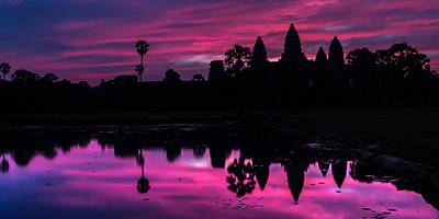 The Magic Of Angkor Wat Art Print
