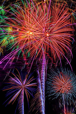 Photograph - The Magic Of Fireworks by Garry Gay