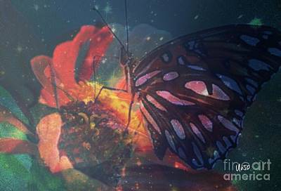 Photograph - The Magic Of Flowers by Maria Urso