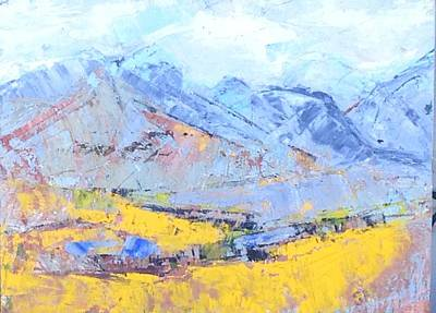 Mixed Media - The Magic Of Mountains by Sally Fraser