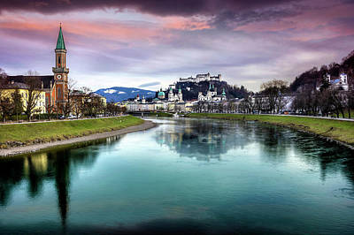 Photograph - The Magic Of Salzburg  by Carol Japp