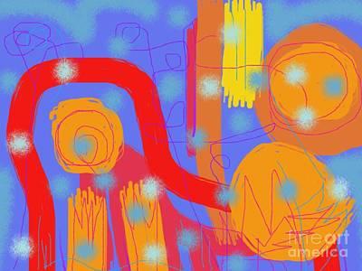 Digital Art - The Magic Of Summer Solstice by Chani Demuijlder