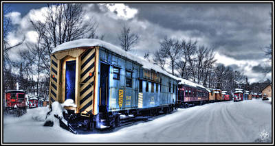 Popular Rustic Neutral Tones - The Magic Train by Wayne King
