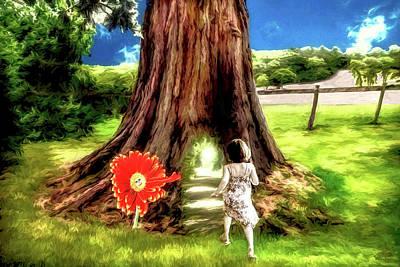 Digital Art - The Magic Tree by Pennie McCracken