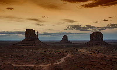 Photograph - The Magical Beauty Of Monument Valley  by Saija Lehtonen
