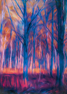 Painting - The Magical Forest by Dan Sproul
