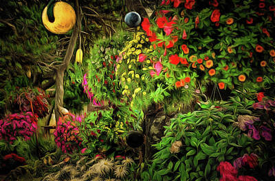 Photograph - The Magical Garden by Thom Zehrfeld