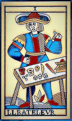 Digital Art - The Magician by Pennie McCracken